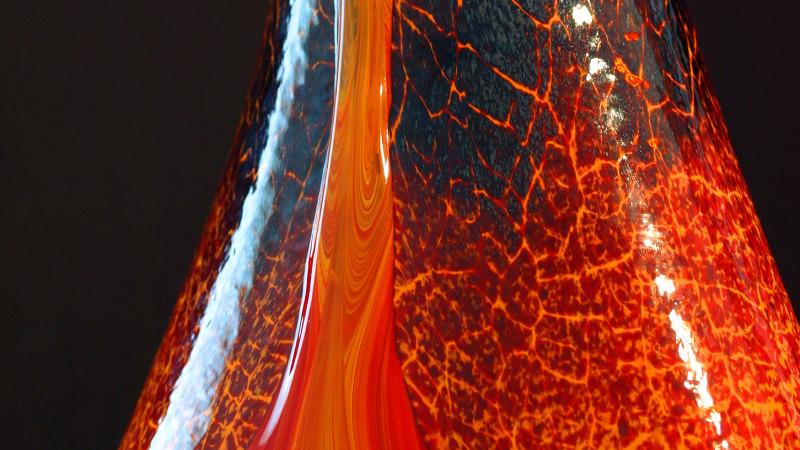 The Classic Crackled Kilauea vase